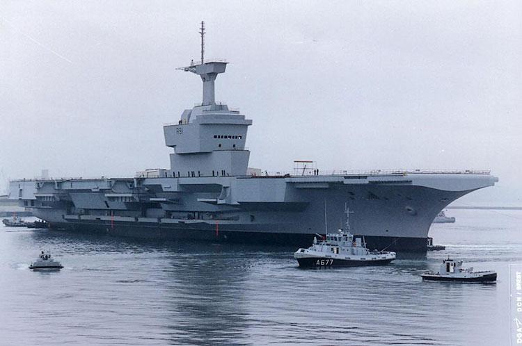 Chaînes navire militaire