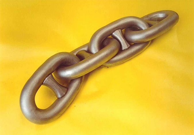 Stud link chain